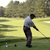 ゴルフスイングは、しっかり振りきる事が大事!