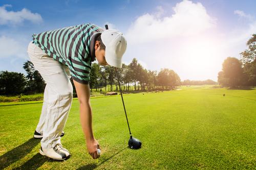 ゴルフのドライバーショット